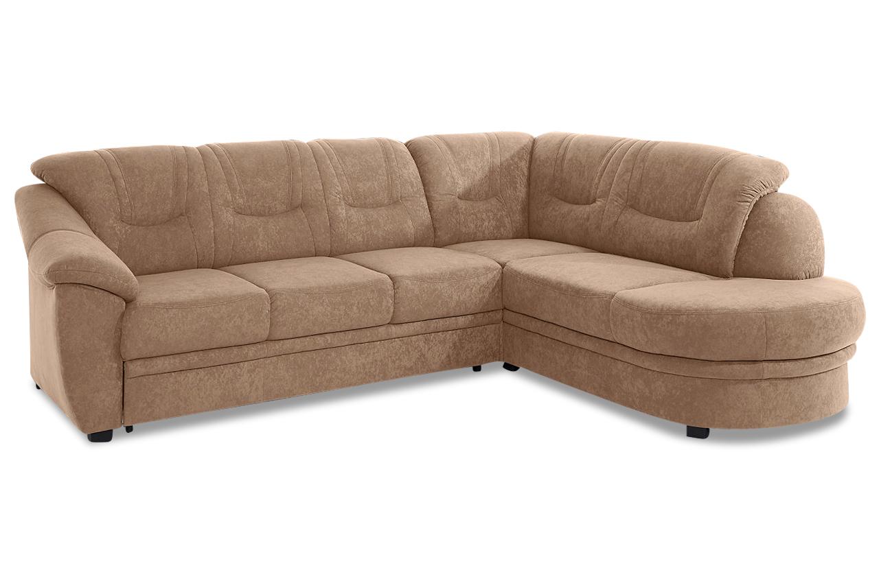 ecksofa xl creme mit federkern sofas zum halben preis. Black Bedroom Furniture Sets. Home Design Ideas