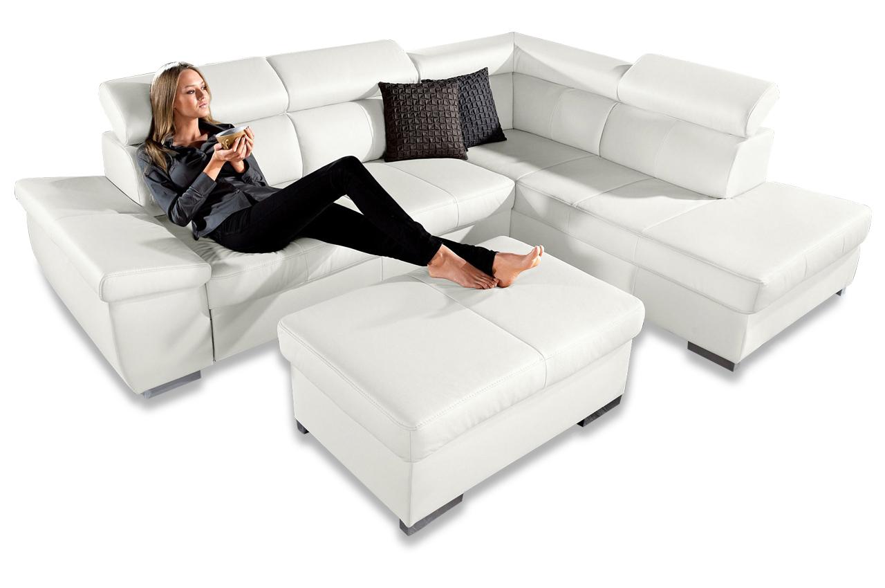 ecksofa xl weiss sofas zum halben preis. Black Bedroom Furniture Sets. Home Design Ideas