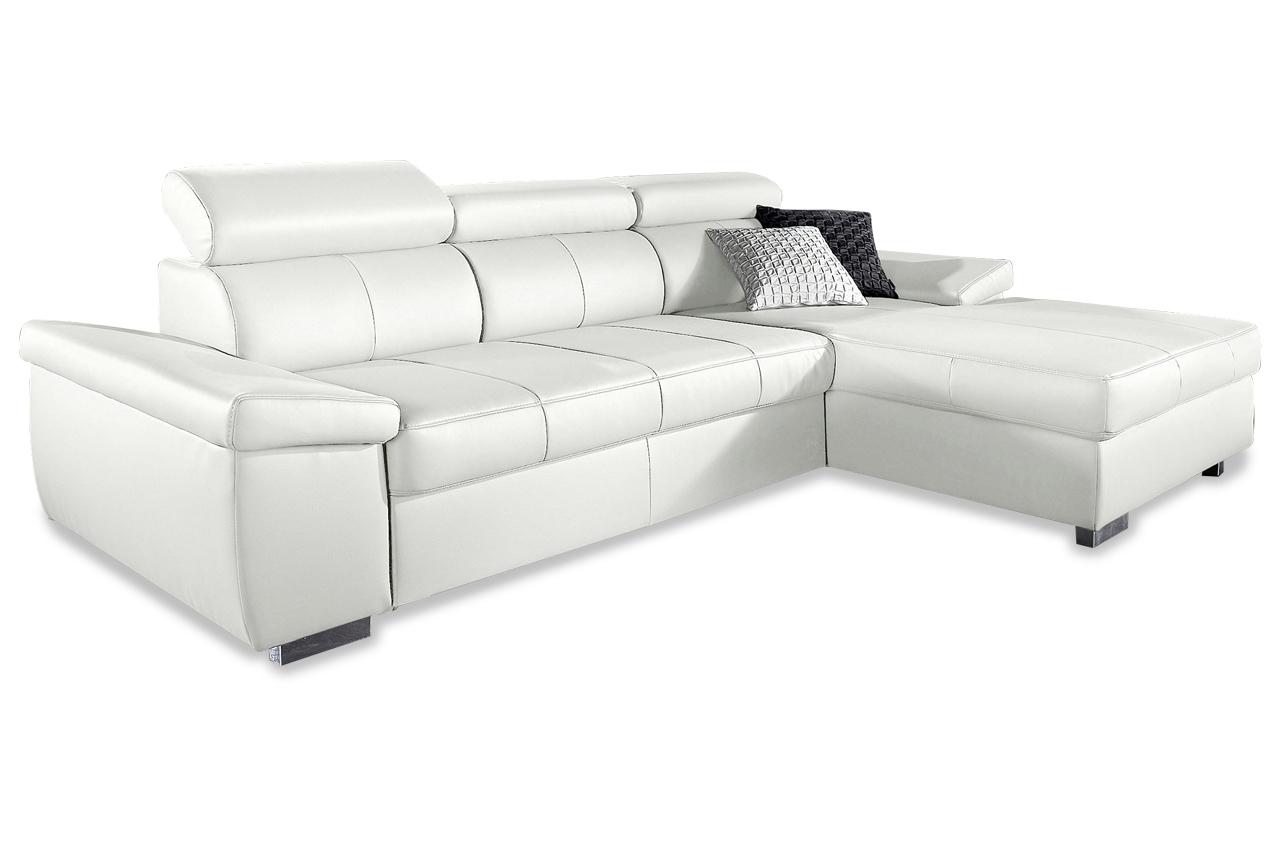 sit more leder ecksofa catwalk mit schlaffunktion grau sofas zum halben preis. Black Bedroom Furniture Sets. Home Design Ideas