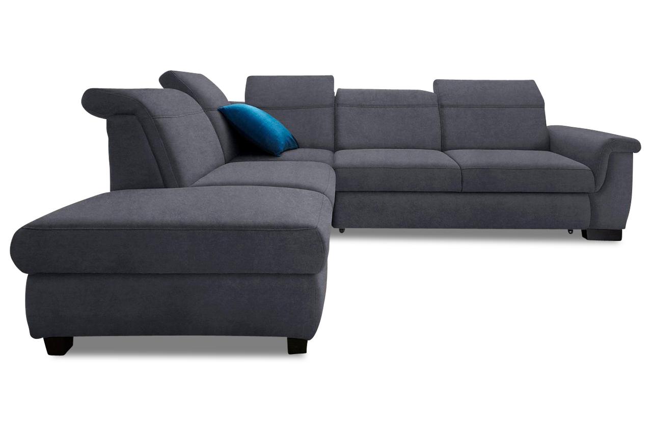 Ecksofa dunkelgrau  Ecksofa XL Sully - Grau | Sofas zum halben Preis