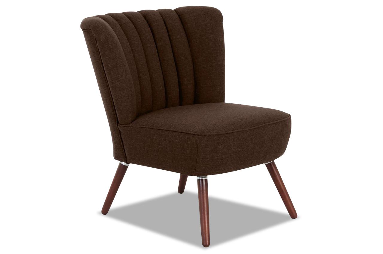 Max winzer sessel aspen braun stoff sofa couch ebay for Sessel braun stoff