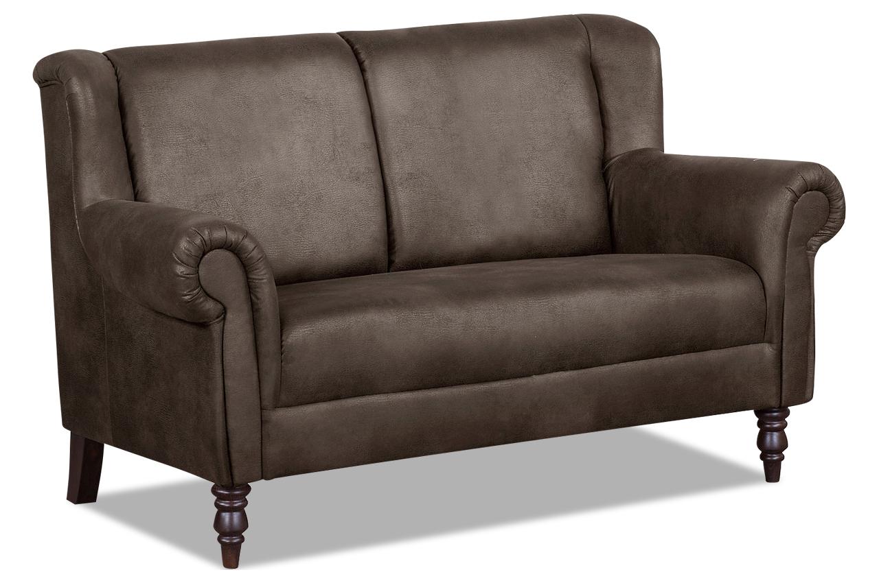 city sofa k chenbank trina braun mit federkern sofa. Black Bedroom Furniture Sets. Home Design Ideas