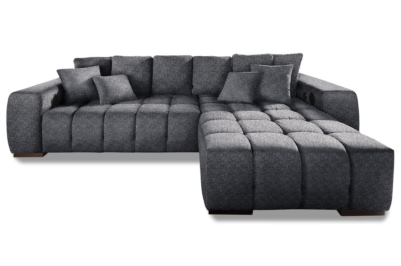Nova via ecksofa xl touchdown anthrazit sofa couch for Ecksofa ebay
