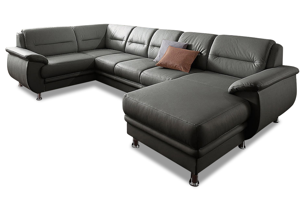 sit more wohnlandschaft mailand mit schlaffunktion weiss sofas zum halben preis. Black Bedroom Furniture Sets. Home Design Ideas