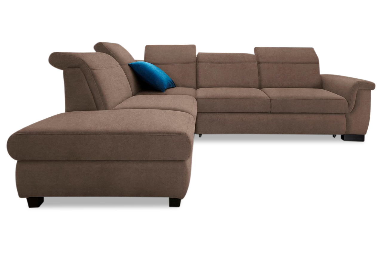 ecksofa xl sully braun sofas zum halben preis. Black Bedroom Furniture Sets. Home Design Ideas