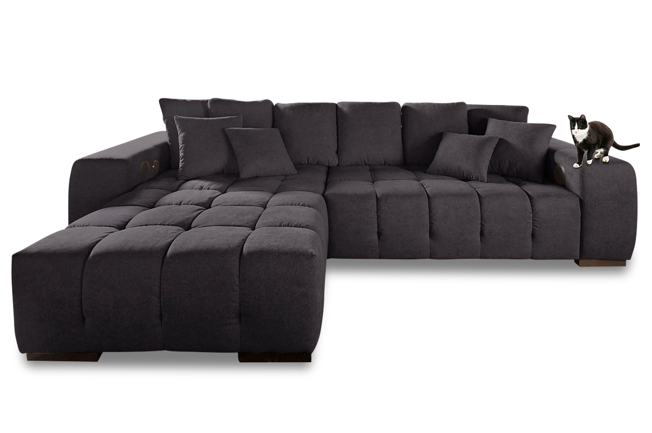 ecksofa xl touchdown anthrazit sofas zum halben preis. Black Bedroom Furniture Sets. Home Design Ideas