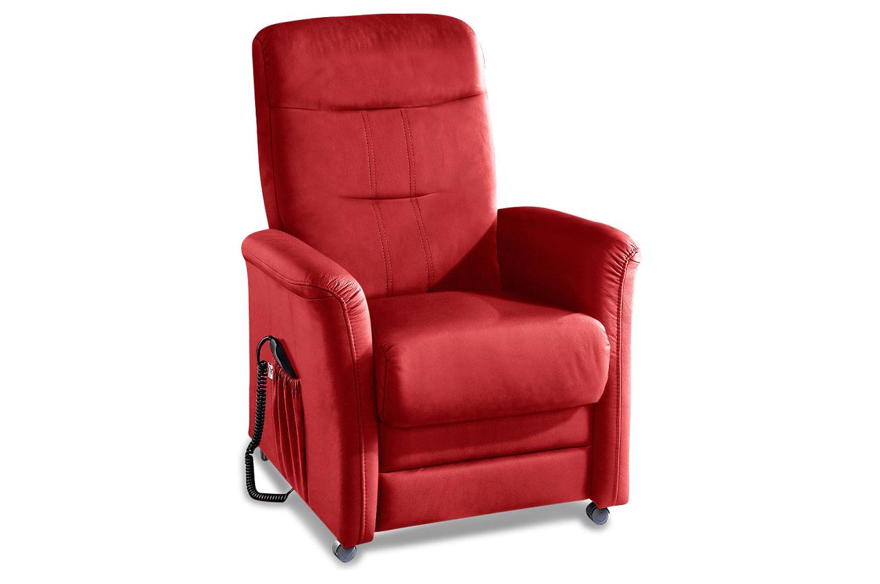 fernsehsessel tv charlie rot sofas zum halben preis. Black Bedroom Furniture Sets. Home Design Ideas