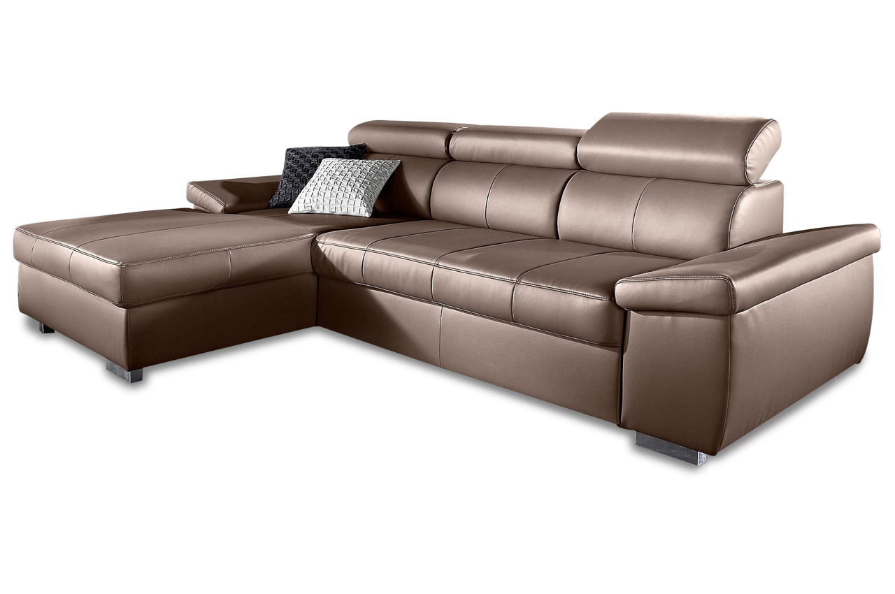 ecksofa links braun sofas zum halben preis. Black Bedroom Furniture Sets. Home Design Ideas
