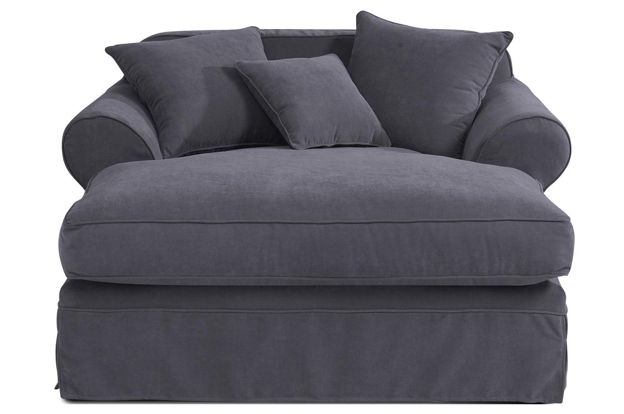 max winzer bigsessel xxl helena grau sofas zum halben preis. Black Bedroom Furniture Sets. Home Design Ideas