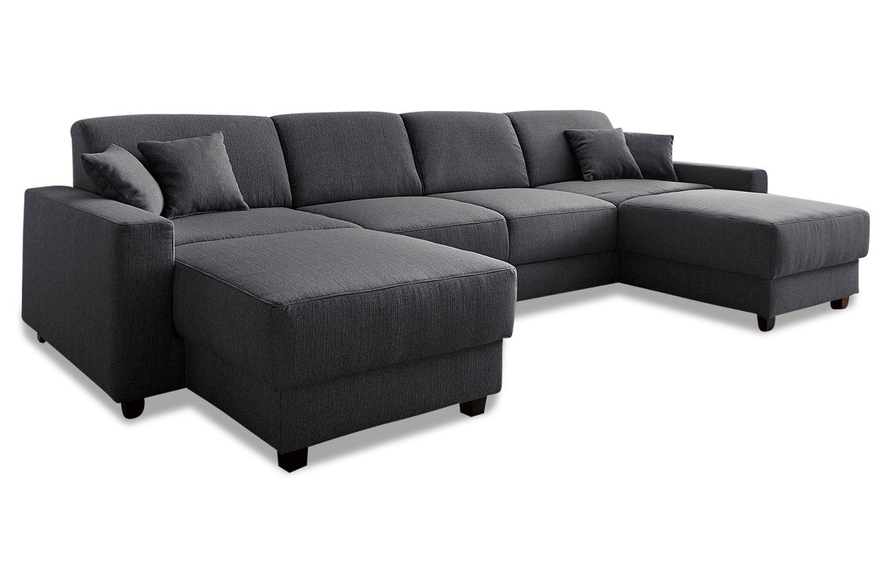 wohnlandschaft maarten mit relax braun mit boxspring. Black Bedroom Furniture Sets. Home Design Ideas
