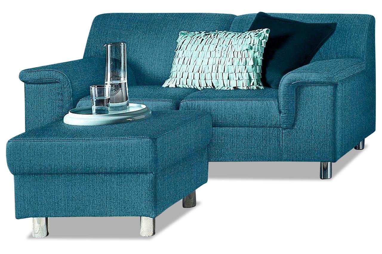 2er sofa jamie blau sofas zum halben preis. Black Bedroom Furniture Sets. Home Design Ideas
