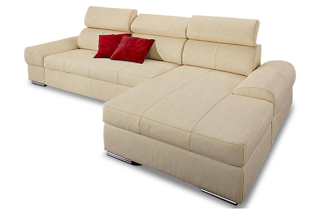 ecksofa broadway mit schlaffunktion creme sofa couch. Black Bedroom Furniture Sets. Home Design Ideas