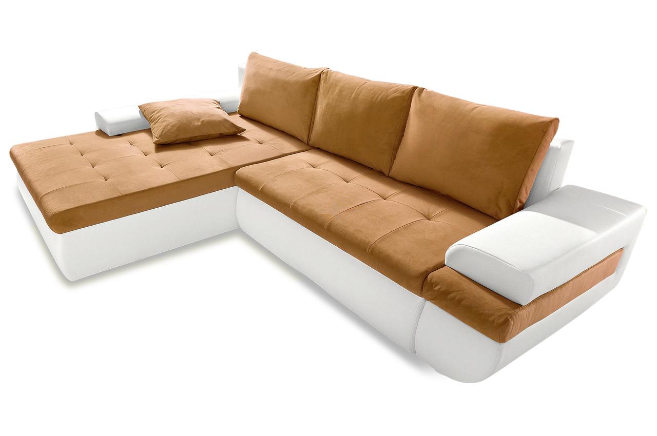 sit more polsterecke caramba xxl mit bett sofas zum. Black Bedroom Furniture Sets. Home Design Ideas
