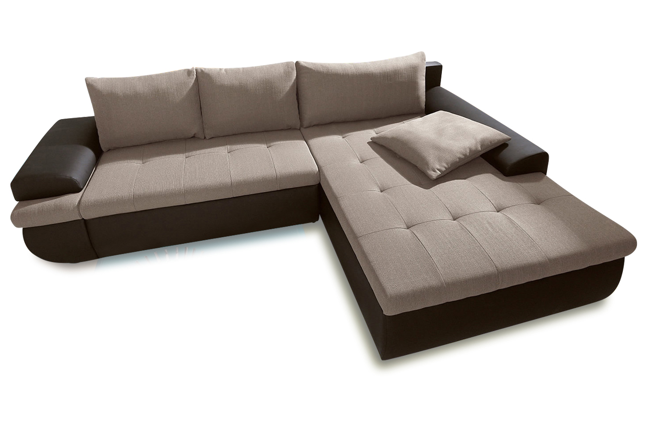 ecksofa caramba xl creme sofas zum halben preis. Black Bedroom Furniture Sets. Home Design Ideas