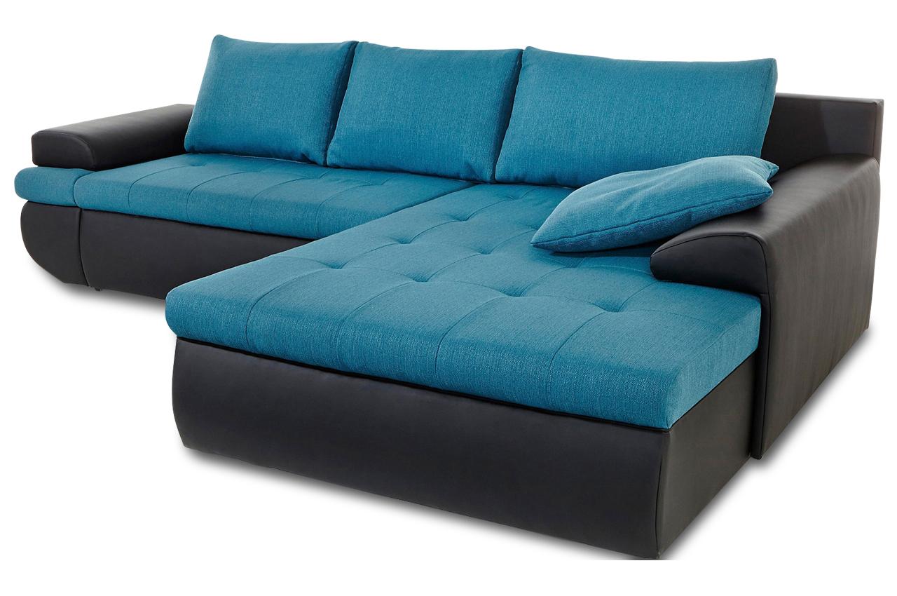 Sit more polsterecke caramba xxl mit bett sofas zum for Ecksofa 2 60x2 00