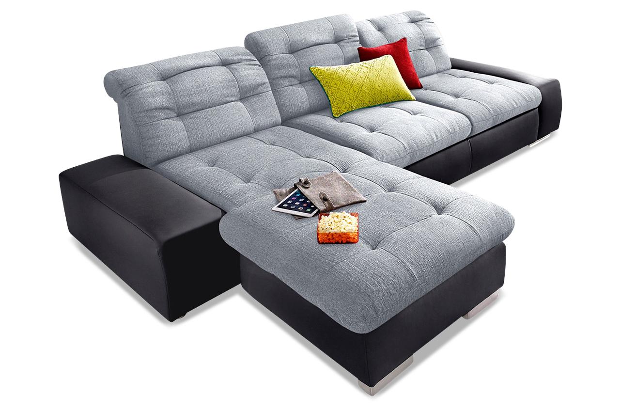 ecksofa palomino xxl schwarz sofas zum halben preis. Black Bedroom Furniture Sets. Home Design Ideas