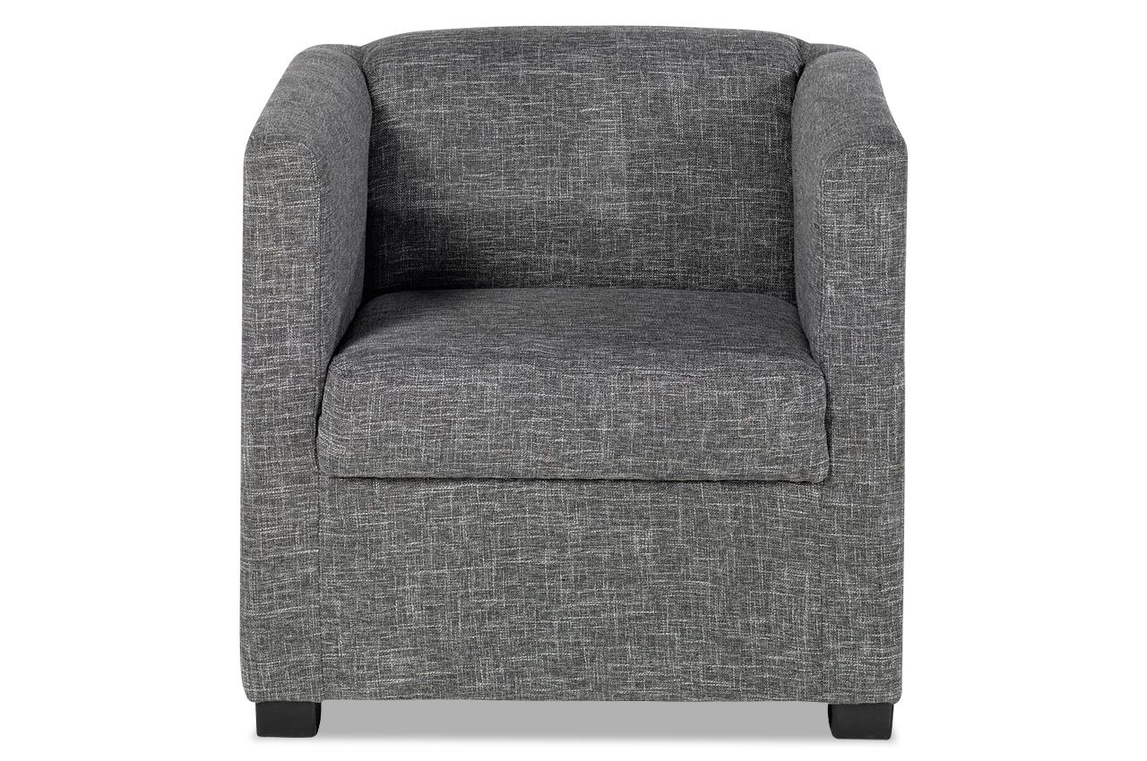 Sessel orlando grau sofas zum halben preis for Wohnlandschaft orlando