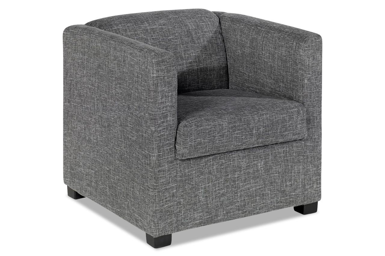 sessel orlando grau sofas zum halben preis. Black Bedroom Furniture Sets. Home Design Ideas
