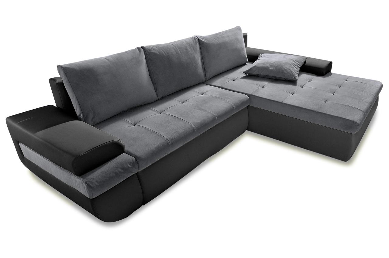 ecksofa schwarz sofas zum halben preis. Black Bedroom Furniture Sets. Home Design Ideas