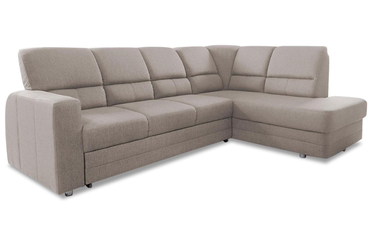 ecksofa xl saba mit relax und schlaffunktion creme mit federkern sofas zum halben preis. Black Bedroom Furniture Sets. Home Design Ideas