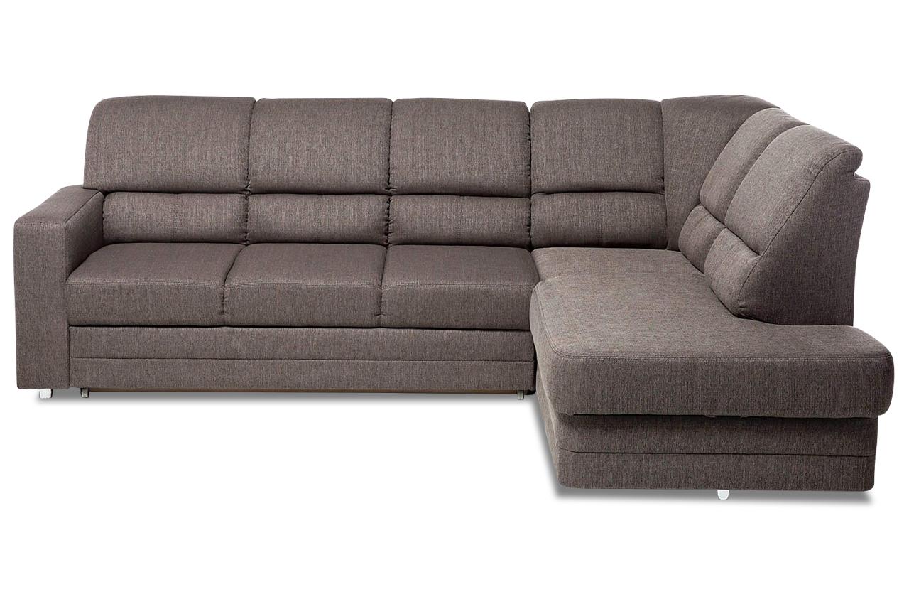 ecksofa xl saba mit relax und schlaffunktion braun mit federkern sofas zum halben preis. Black Bedroom Furniture Sets. Home Design Ideas