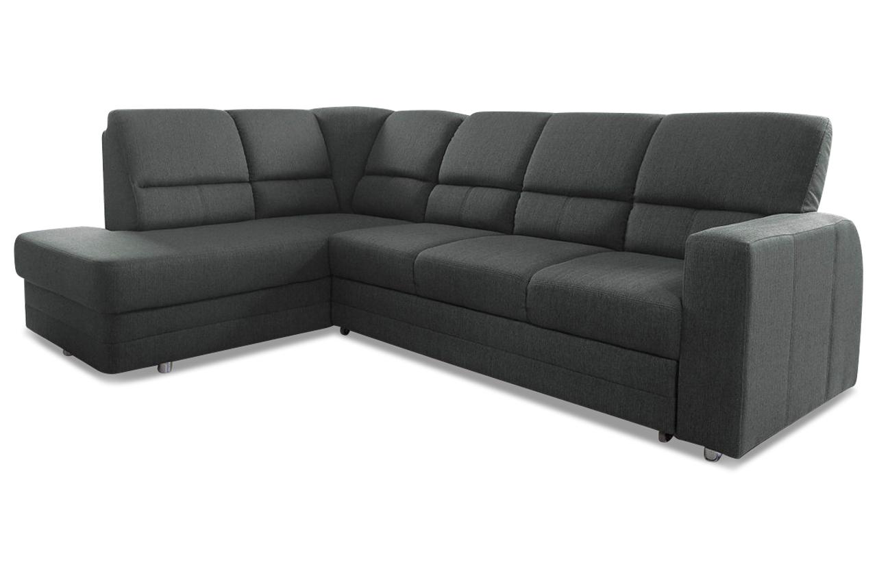 ecksofa xl saba mit relax und schlaffunktion anthrazit mit federkern sofas zum halben preis. Black Bedroom Furniture Sets. Home Design Ideas