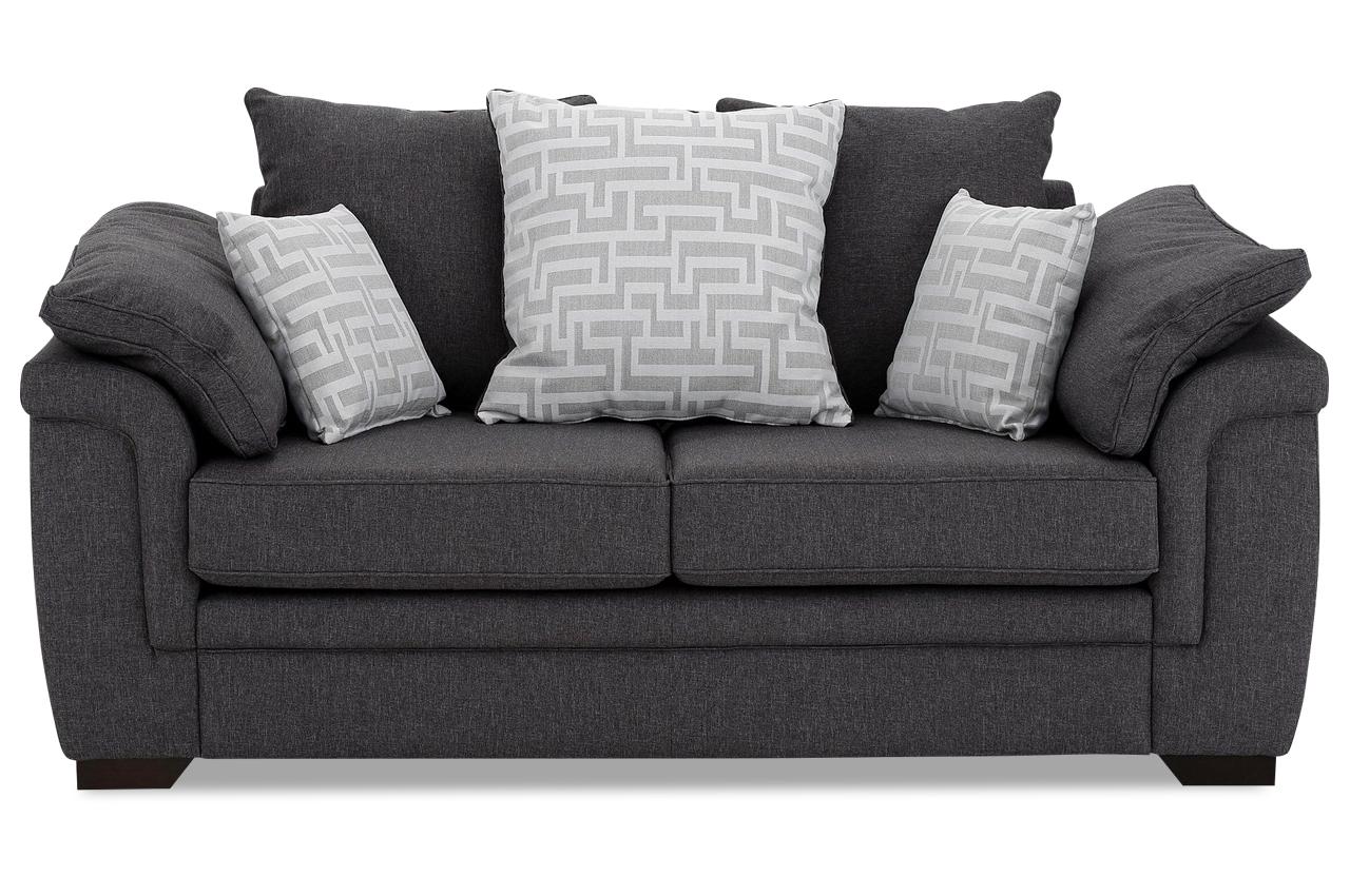 stolmar 2er sofa sierra grau sofas zum halben preis. Black Bedroom Furniture Sets. Home Design Ideas