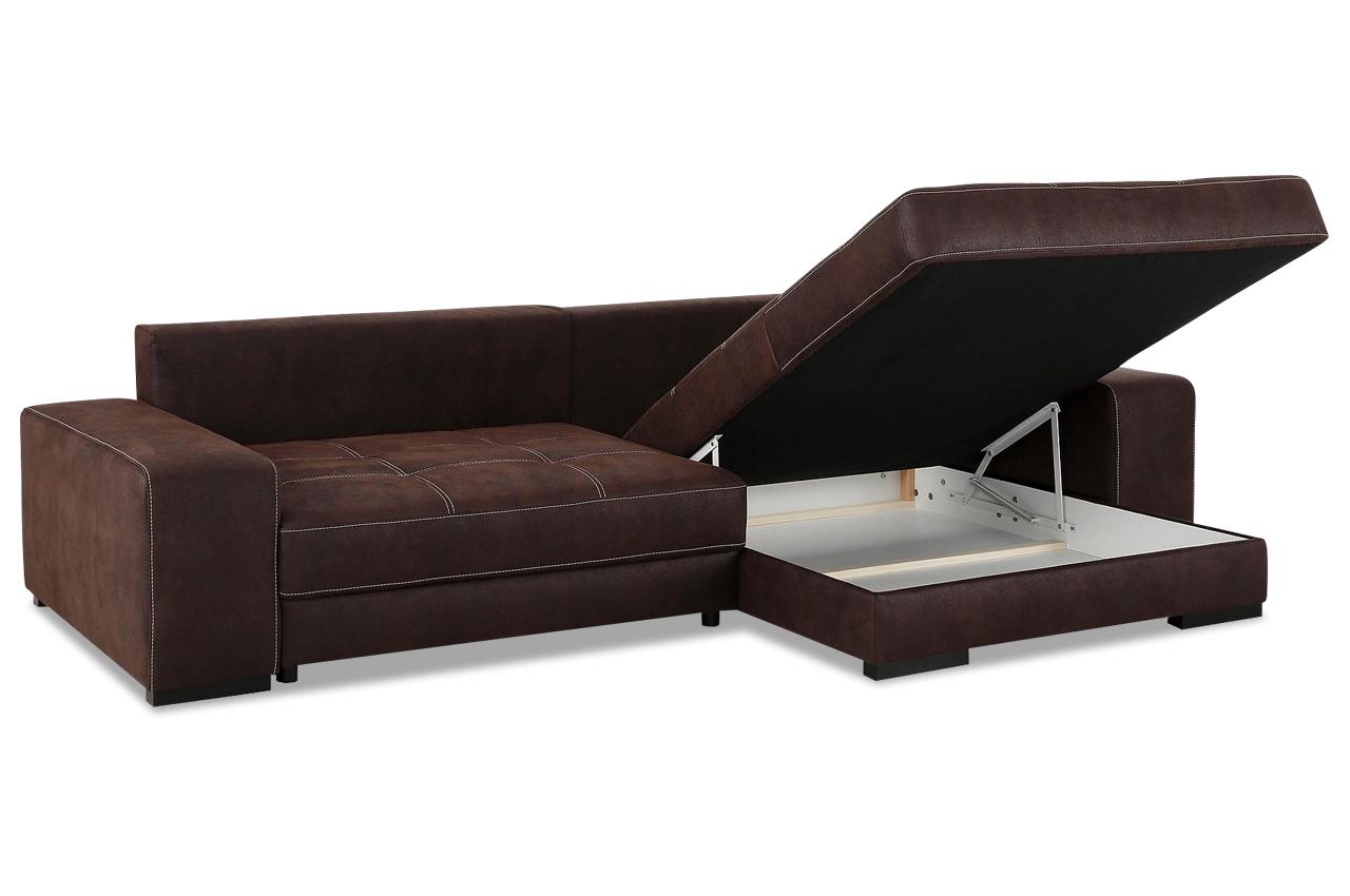 nova via ecksofa diabolo mit schlaffunktion braun mit boxspring sofas zum halben preis. Black Bedroom Furniture Sets. Home Design Ideas