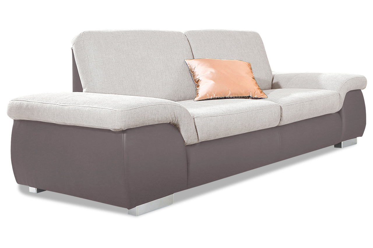 Faszinierend 2 Er Sofa Dekoration Von 2er Grau Grau Leder Big Sectional Leather