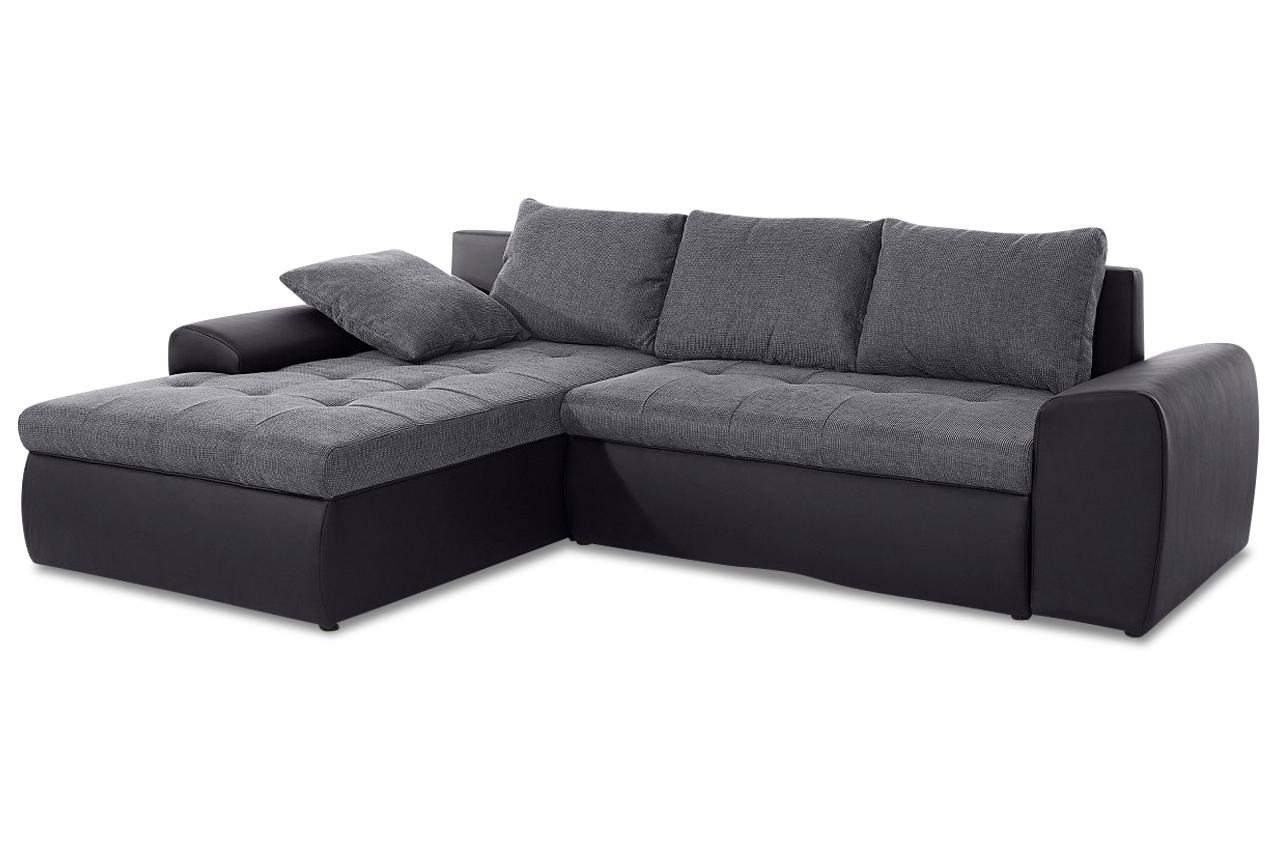 ecksofa mit schlaffunktion anthrazit sofas zum halben preis. Black Bedroom Furniture Sets. Home Design Ideas