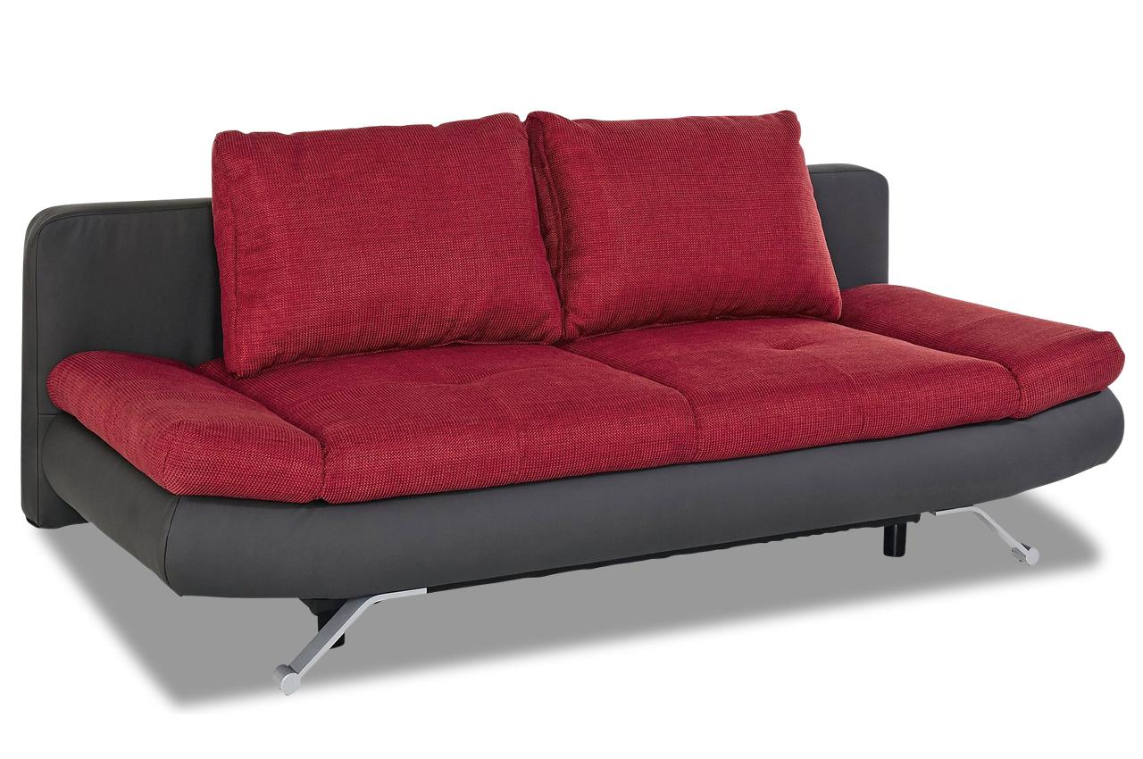 Schlafsofa mit schlaffunktion rot sofas zum halben preis for Schlafsofa rot