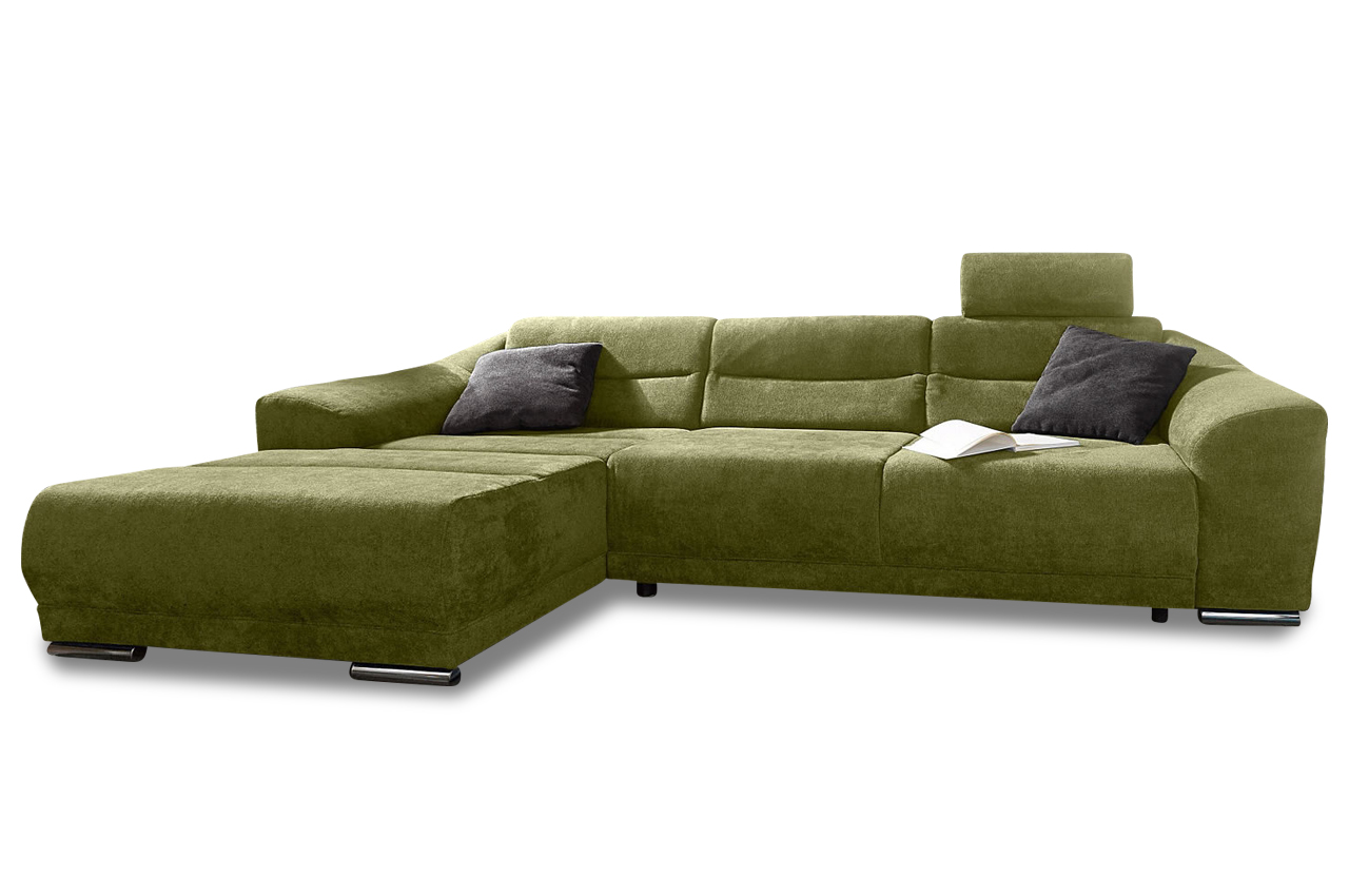 ecksofa sonya gruen sofa couch ecksofa ebay. Black Bedroom Furniture Sets. Home Design Ideas