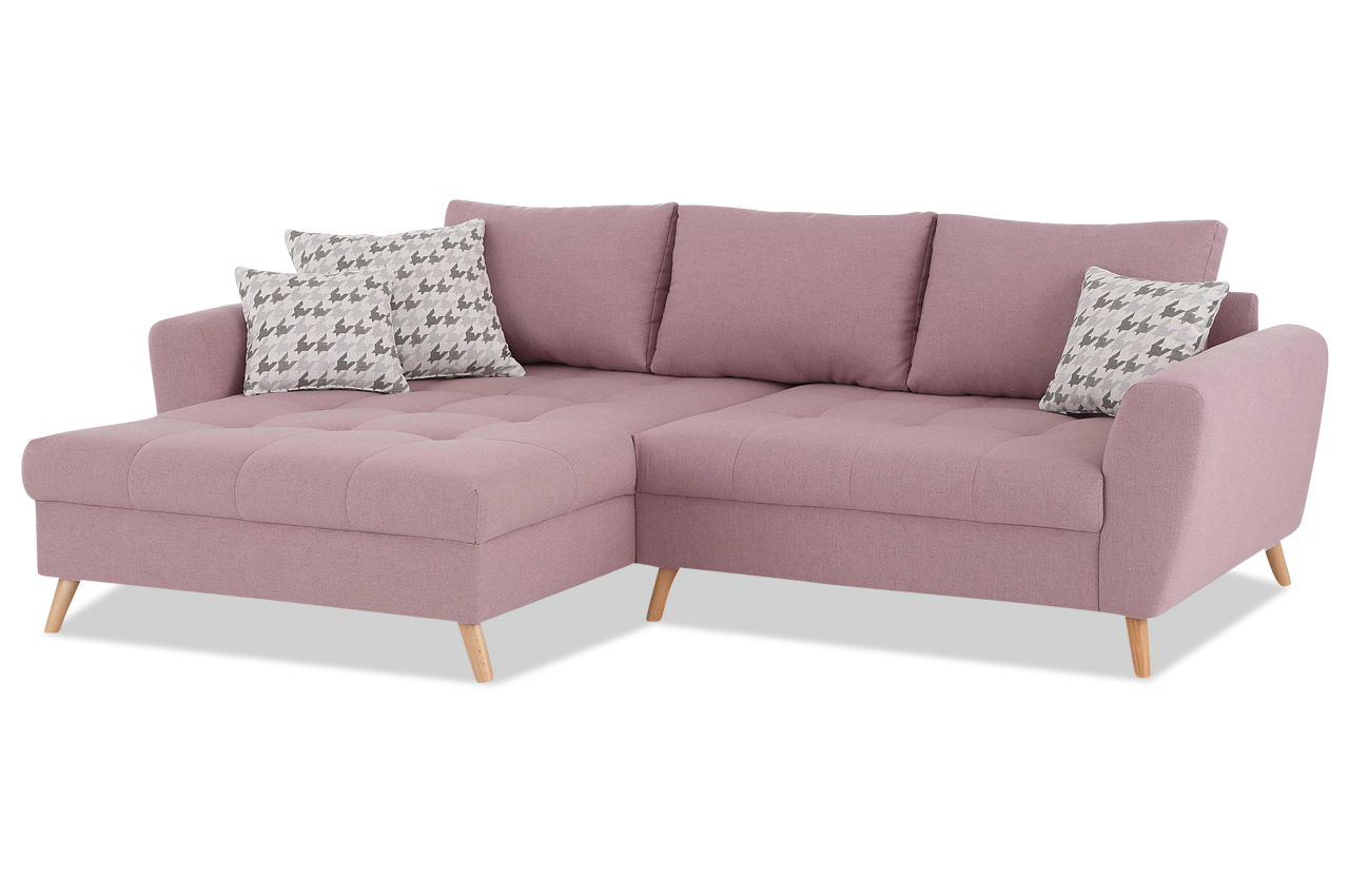 ecksofa scotland pink sofas zum halben preis. Black Bedroom Furniture Sets. Home Design Ideas