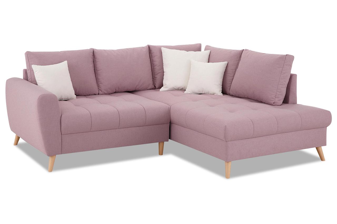 Ecksofa xl fan pink sofas zum halben preis for Ecksofa xl sully