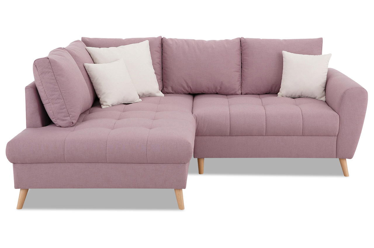 ecksofa xl fan pink sofas zum halben preis. Black Bedroom Furniture Sets. Home Design Ideas