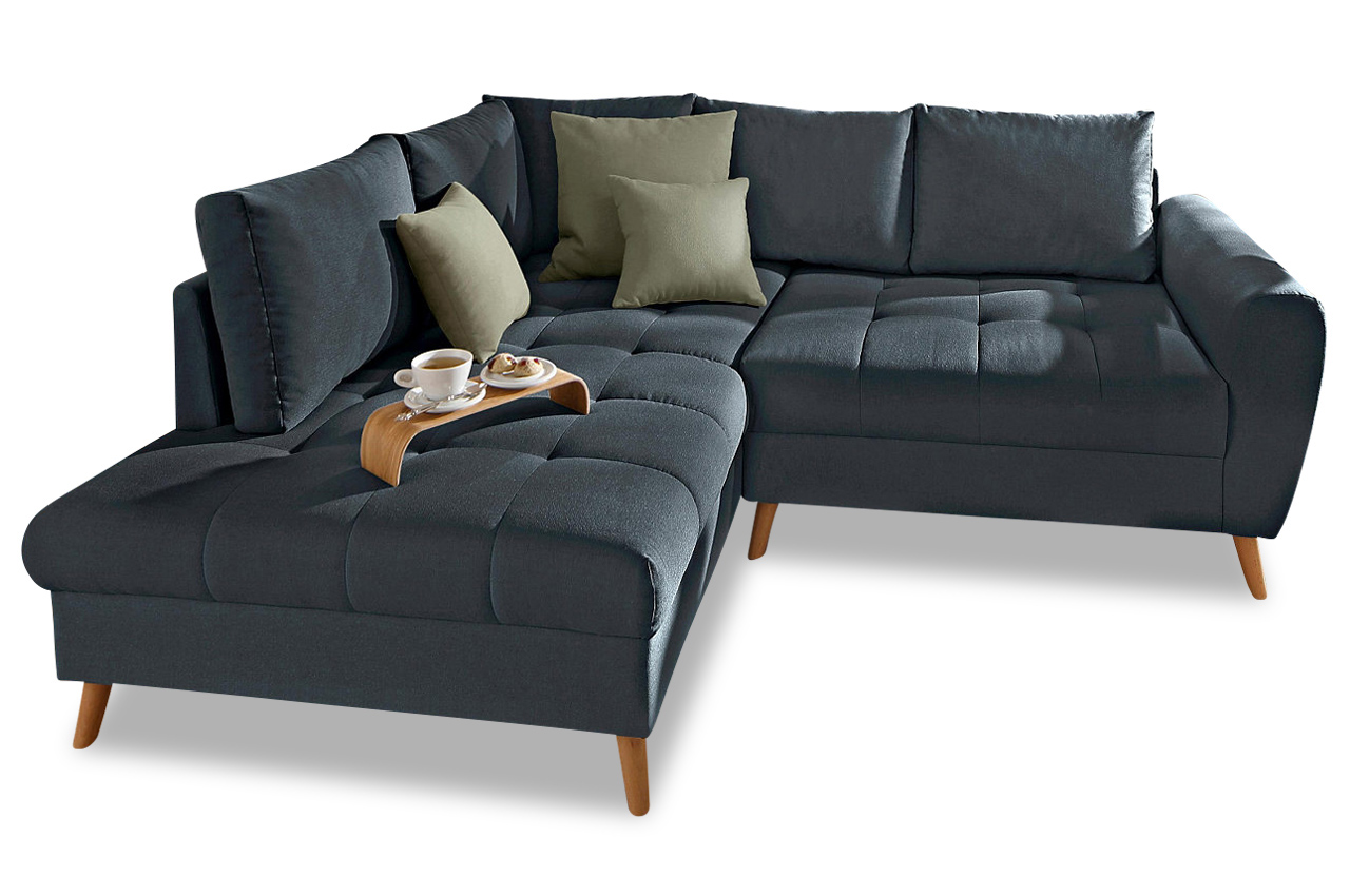 nova via ecksofa xl fan anthrazit sofa couch ecksofa ebay. Black Bedroom Furniture Sets. Home Design Ideas