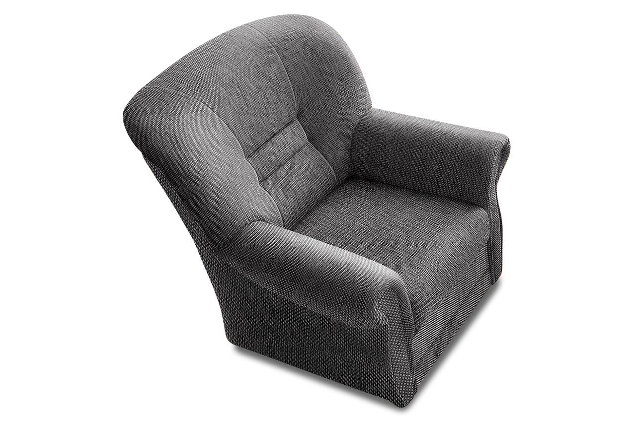 sessel landeck grau mit federkern sofas zum halben preis. Black Bedroom Furniture Sets. Home Design Ideas