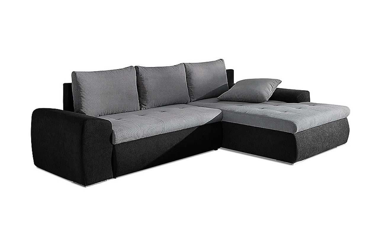 ecksofa toulon mit schlaffunktion anthrazit sofas. Black Bedroom Furniture Sets. Home Design Ideas