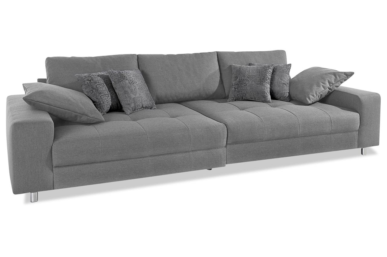 max winzer bigsofa tobi grau sofas zum halben preis. Black Bedroom Furniture Sets. Home Design Ideas