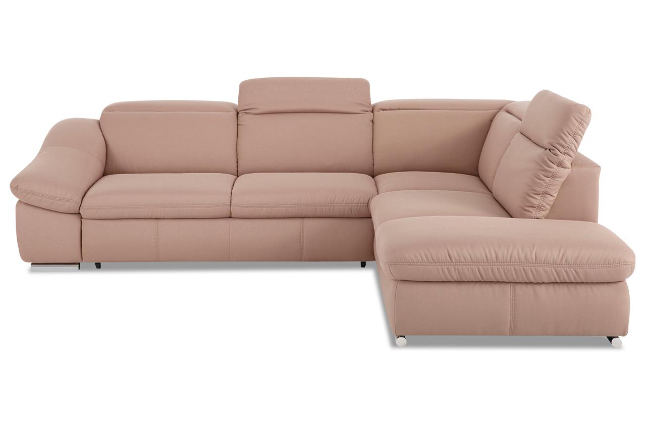 Sit more megaecke marilyn mit bett sofas zum halben preis for Ecksofa 2 60x2 00