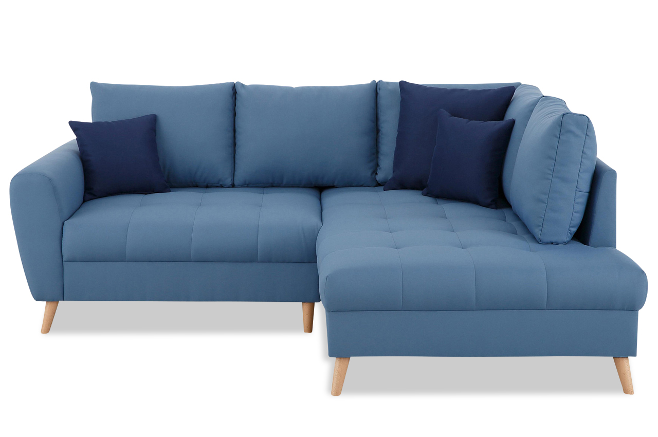 ecksofa xl fan blau sofas zum halben preis. Black Bedroom Furniture Sets. Home Design Ideas