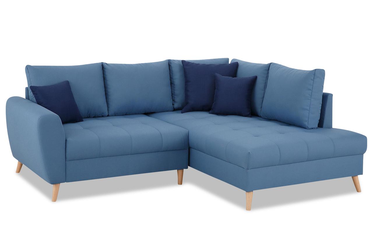 Ecksofa xl fan blau sofas zum halben preis for Sofa hellblau