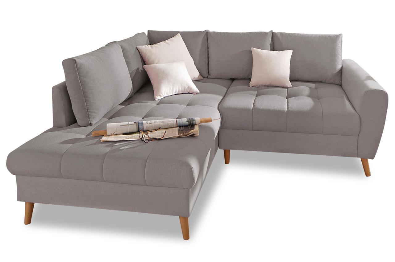 ecksofa xl fan grau sofas zum halben preis. Black Bedroom Furniture Sets. Home Design Ideas
