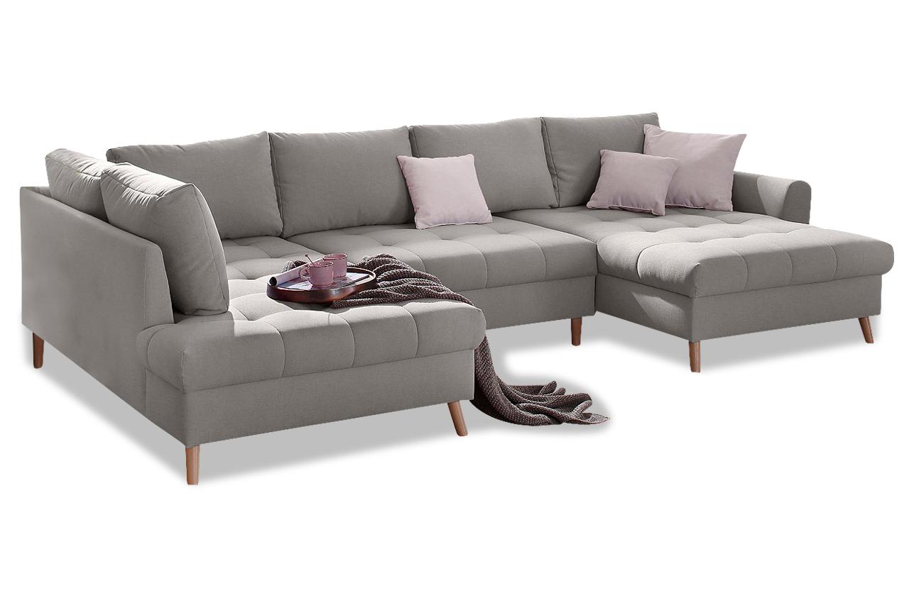Wohnlandschaft grau for Urban sofa deutschland
