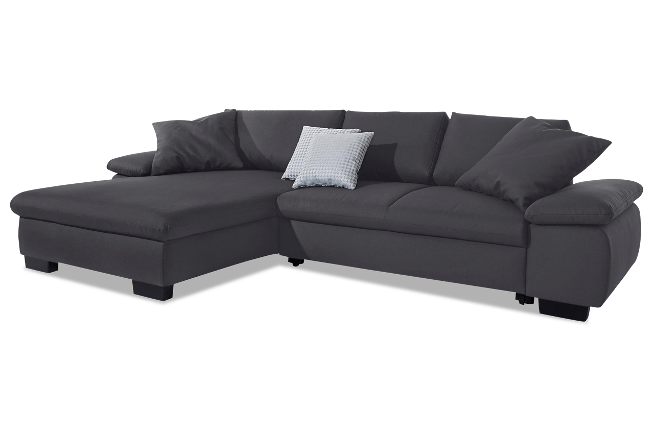 ecksofa lima anthrazit sofas zum halben preis. Black Bedroom Furniture Sets. Home Design Ideas