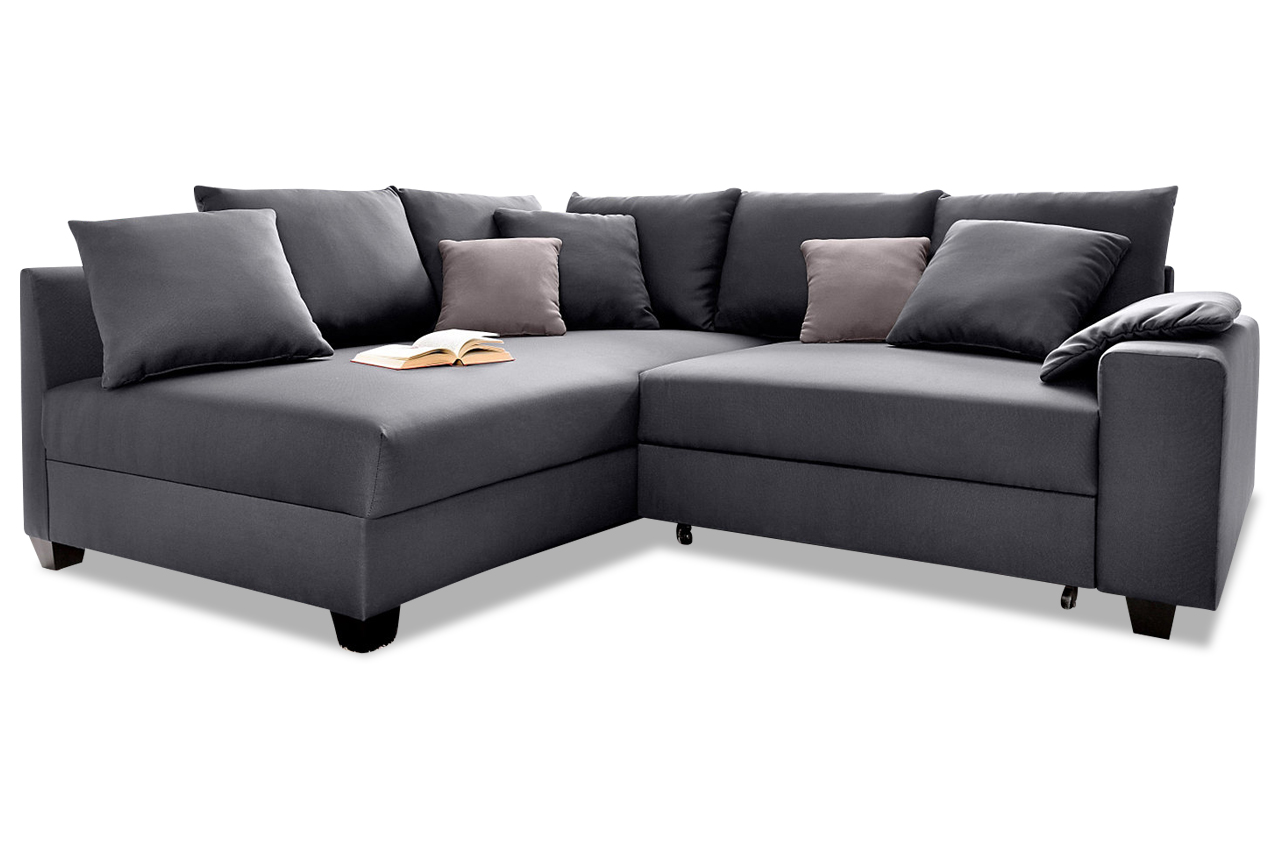 ecksofa quadro anthrazit sofas zum halben preis. Black Bedroom Furniture Sets. Home Design Ideas