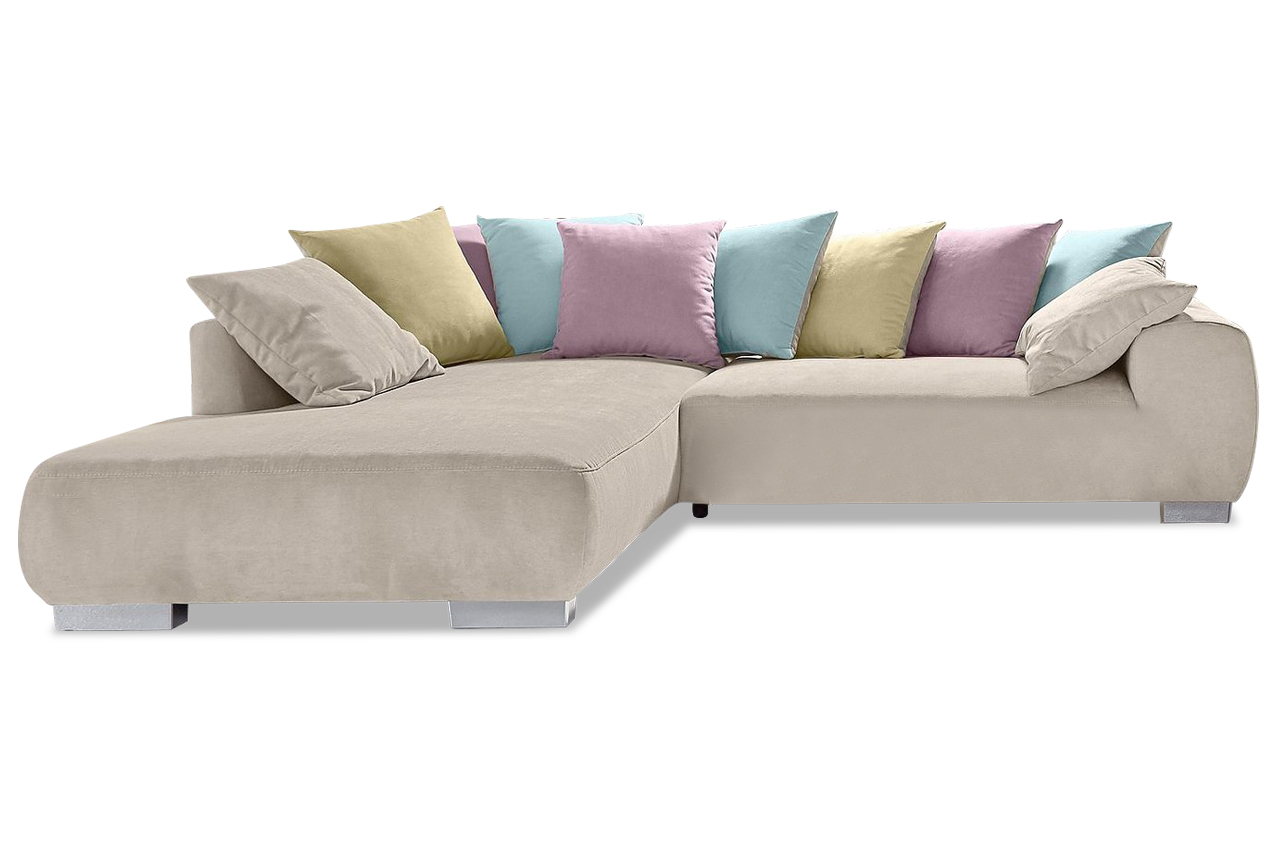 nova via ecksofa xl summertime creme sofa couch ecksofa ebay. Black Bedroom Furniture Sets. Home Design Ideas