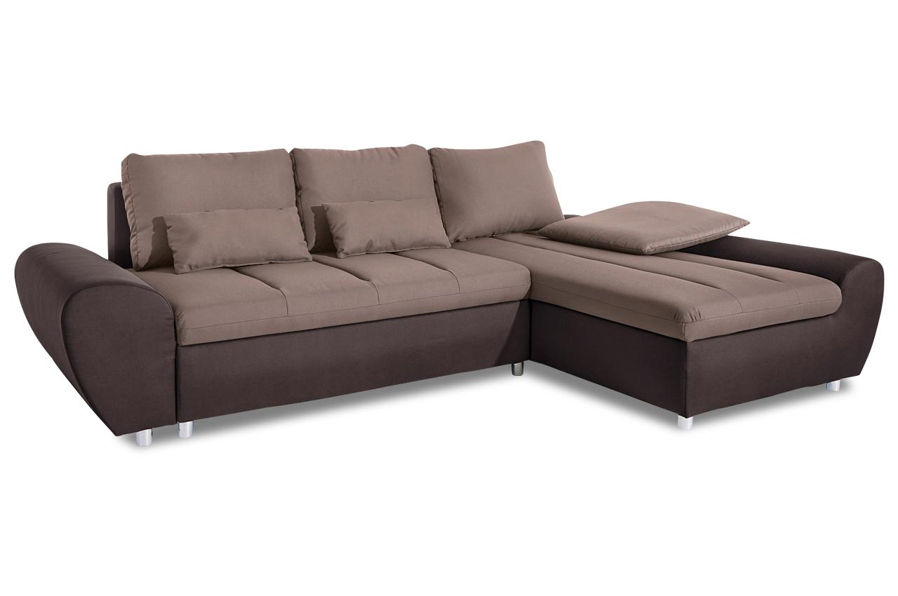 sit more ecksofa bandos xxl braun sofas zum halben preis. Black Bedroom Furniture Sets. Home Design Ideas