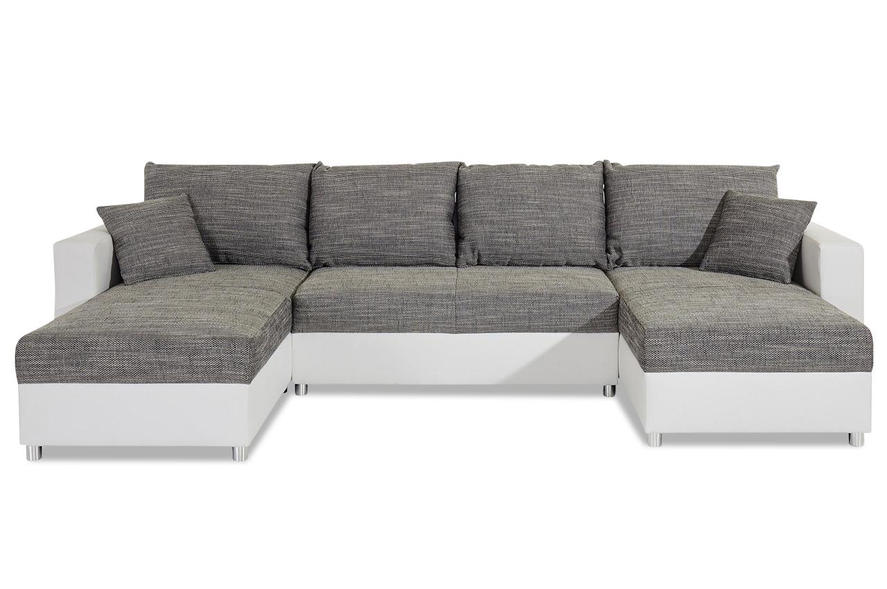 wohnlandschaft mit schlaffunktion anthrazit sofas zum halben preis. Black Bedroom Furniture Sets. Home Design Ideas