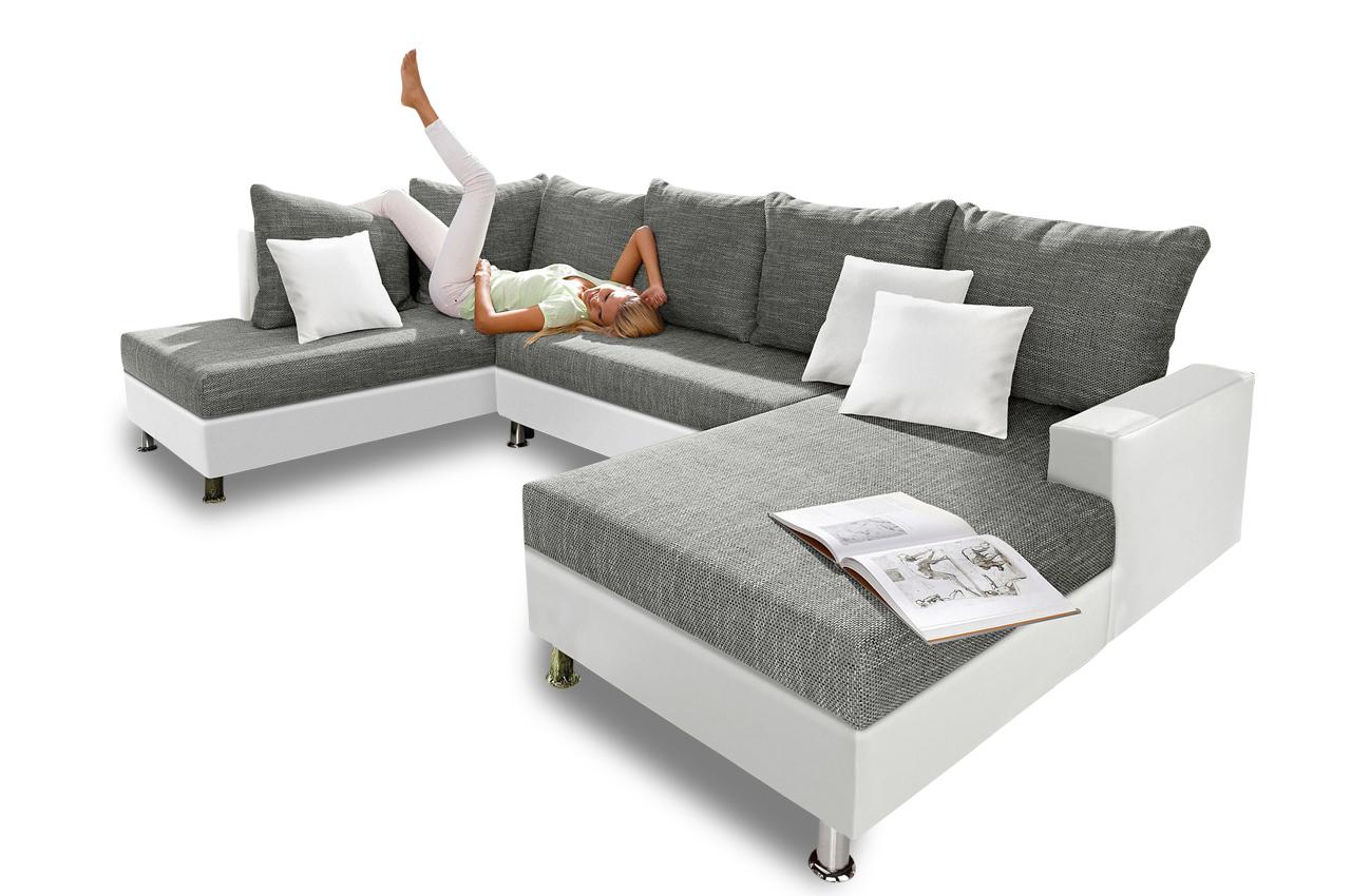 sit more wohnlandschaft maxi mit bett sofas zum halben preis. Black Bedroom Furniture Sets. Home Design Ideas